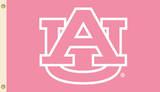 NCAA Auburn Tigers Pink Design Flag with Grommets Flag