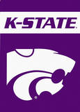 NCAA Kansas State Wildcats 2-Sided Garden Flag Novelty