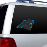 NFL Carolina Panthers Diecut Window Film Window Decal