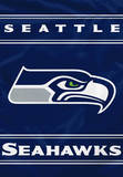NFL Seattle Seahawks 2-Sided House Banner Flag