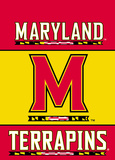 NCAA Maryland Terrapins 2-Sided Garden Flag Flag