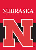 NCAA Nebraska Cornhuskers 2-Sided Garden Flag Flag