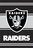 NFL Oakland Raiders 2-Sided House Banner Wall Scroll