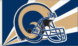 NFL St. Louis Rams Flag with Grommets Flag