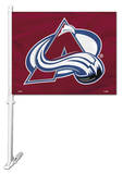 NHL Colorado Avalanche Car Flag Flag