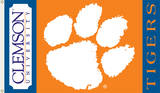 NCAA Clemson Tigers Flag with Grommets Flag