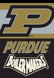NCAA Purdue Boilermakers 2-Sided House Banner Flag