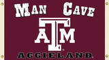 NCAA Texas A&M Aggies Man Cave Flag with Grommets Flag