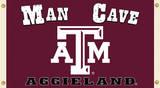 NCAA Texas A&M Aggies Man Cave Flag with Grommets Flag