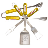 NFL Washington Redskins Four Piece Stainless Steel BBQ Set BBQ Grill Set