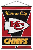 NFL Kansas City Chiefs Wall Banner Flag