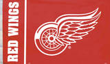 NHL Detroit Red Wings Flag with Grommets Flag