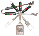Nascar Dale Jr. 88 Four Piece Stainless Steel BBQ Set Novelty