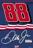 Nascar Dale Jr. 88 Nat Guard 2-Sided House Banner Wall Scroll