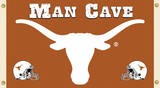 NCAA Texas Longhorns Man Cave Flag with Grommets Flag