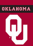 NCAA Oklahoma Sooners 2-Sided Garden Flag Flag