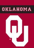 NCAA Oklahoma Sooners 2-Sided Garden Flag Bandera