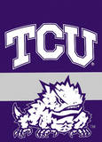 NCAA Texas Christian Horned Frogs 2-Sided Garden Flag Novelty