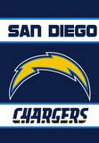 NFL San Diego Chargers 2-Sided House Banner Flag