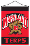 NCAA Maryland Terrapins Indoor Banner Scroll Wall Scroll