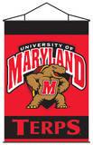 NCAA Maryland Terrapins Indoor Banner Scroll Wall Scroll