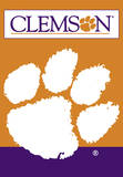 NCAA Clemson Tigers 2-Sided House Banner Wall Scroll