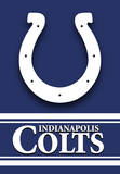 NFL Indianapolis Colts 2-Sided House Banner Flag
