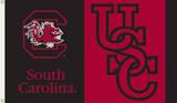 NCAA South Carolina Gamecocks Flag with Grommets Flag