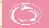 NCAA Penn State Nittany Lions Pink Design Flag with Grommets Flag