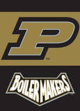 NCAA Purdue Boilermakers 2-Sided Garden Flag Flag