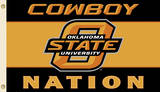 NCAA Oklahoma State Cowboys Flag with Grommets Flag