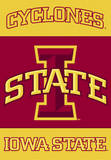 NCAA Iowa State Cyclones 2-Sided House Banner Flag