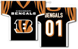 NFL Cincinnati Bengals 2-Sided Jersey Banner Flag