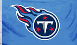 NFL Tennessee Titans Flag with Grommets Flag