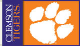 NCAA Clemson Tigers 2-Sided Flag with Grommets Novelty