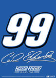 Nascar Carl Edwards 99 2-Sided Garden Flag Novelty