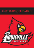 NCAA Louisville Cardinals 2-Sided Garden Flag Flag