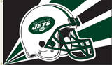NFL New York Jets Flag with Grommets Flag