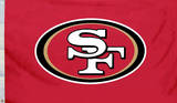 NFL San Francisco 49Ers Flag with Grommets Flag