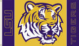 NCAA Louisiana State Tigers 2-Sided Flag with Grommets Flag