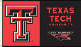NCAA Texas Tech Red Raiders Flag with Grommets Novelty