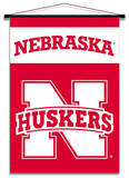 NCAA Nebraska Cornhuskers Indoor Banner Scroll Wall Scroll