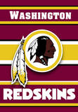 NFL Washington Redskins 2-Sided House Banner Flag