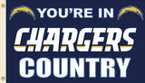 NFL San Diego Chargers Flag with Grommets Flag