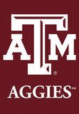 NCAA Texas A&M Aggies 2-Sided House Banner Flag
