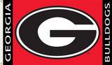 NCAA Georgia Bulldogs Flag with Grommets Bandera