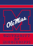 NCAA Mississippi Rebels 2-Sided Garden Flag Novelty