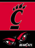 NCAA Cincinnati Bearcats 2-Sided Garden Flag Flag