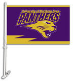 NCAA Northern Iowa Car Flag with Wall Bracket Flag