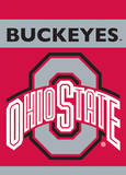 NCAA Ohio State Buckeyes 2-Sided Garden Flag Novelty